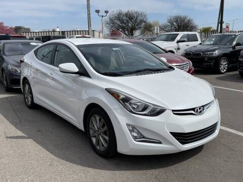 2014 Hyundai Elantra for sale at SOUTHFIELD QUALITY CARS in Detroit MI