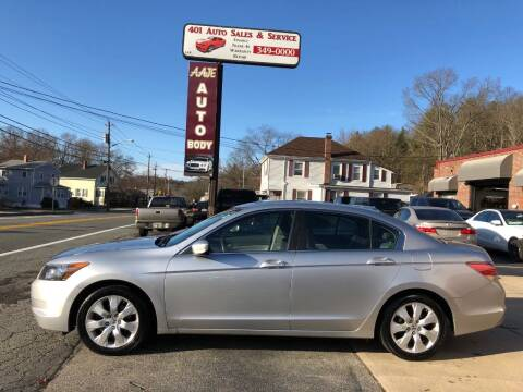 2009 Honda Accord for sale at 401 Auto Sales & Service in Smithfield RI