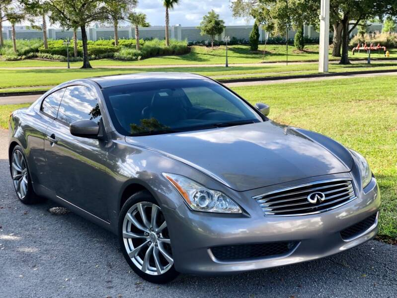 2010 Infiniti G37 Coupe for sale at Sunshine Auto Sales in Oakland Park FL