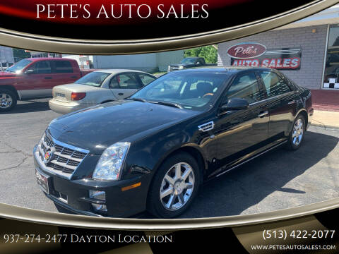 2008 Cadillac STS for sale at PETE'S AUTO SALES LLC - Dayton in Dayton OH