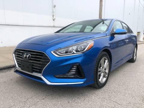 2018 Hyundai Sonata for sale at WALDO MOTORS in Kansas City MO