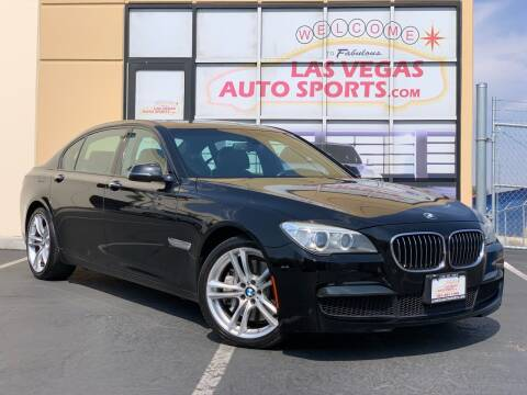 2013 BMW 7 Series for sale at Las Vegas Auto Sports in Las Vegas NV