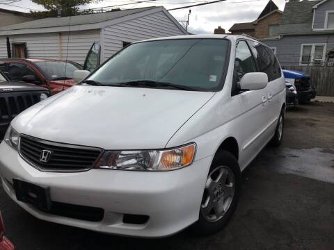 2000 Honda Odyssey for sale at Jeff Auto Sales INC in Chicago IL