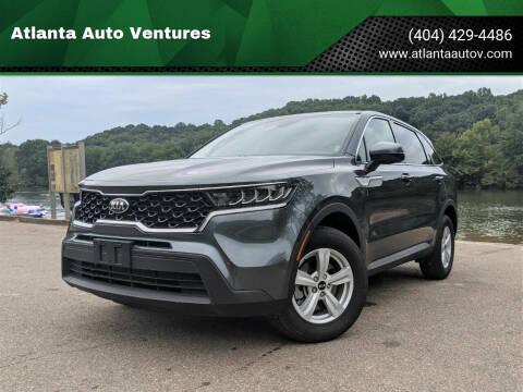 2021 Kia Sorento for sale at Atlanta Auto Ventures in Roswell GA