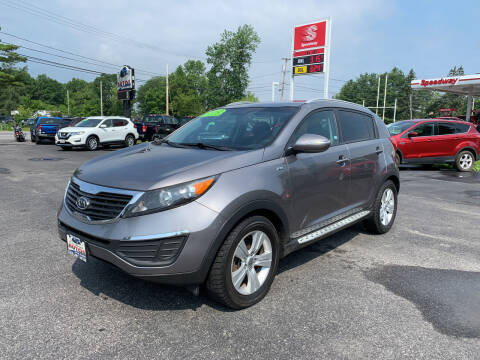 2012 Kia Sportage for sale at Excellent Autos in Amsterdam NY