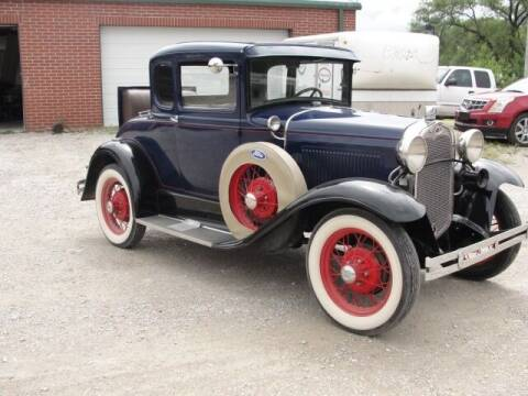 1930 Ford Model A for sale at Frieling Auto Sales in Manhattan KS