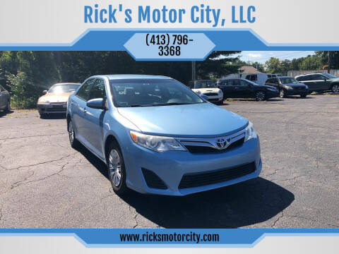 2013 Toyota Camry for sale at Rick's Motor City, LLC in Springfield MA
