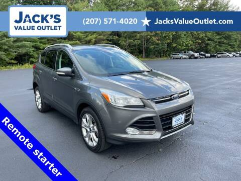 2014 Ford Escape for sale at Jack's Value Outlet in Saco ME
