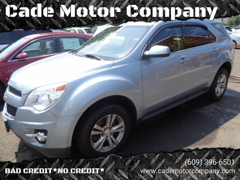 2015 Chevrolet Equinox for sale at Cade Motor Company in Lawrence Township NJ