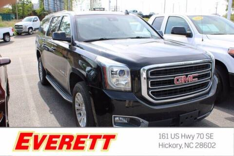2017 GMC Yukon XL for sale at Everett Chevrolet Buick GMC in Hickory NC