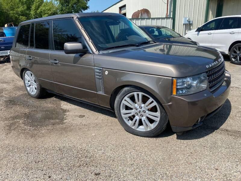 2011 Land Rover Range Rover for sale at CAVENDER MOTORS in Van Alstyne TX