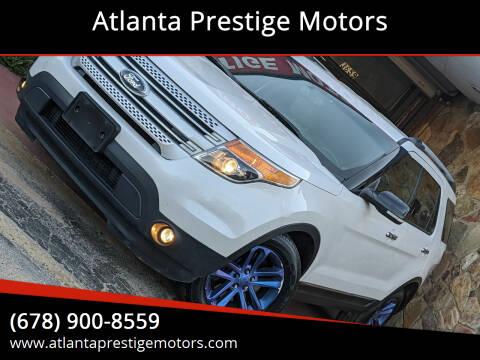 2014 Ford Explorer for sale at Atlanta Prestige Motors in Decatur GA