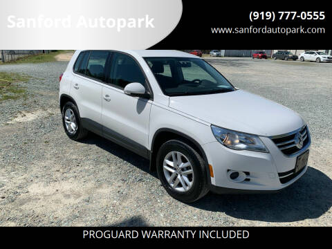 2011 Volkswagen Tiguan for sale at Sanford Autopark in Sanford NC