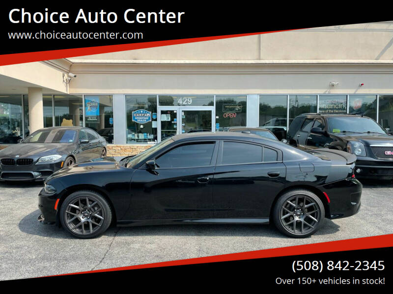 2017 Dodge Charger for sale at Choice Auto Center in Shrewsbury MA