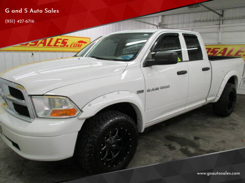 2011 RAM Ram Pickup 1500 for sale at G and S Auto Sales in Ardmore TN