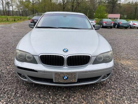 2008 BMW 7 Series for sale at Anaheim Auto Auction in Irondale AL