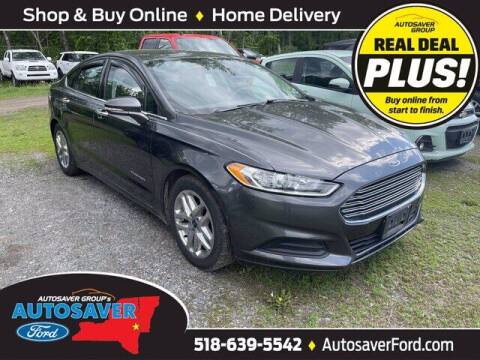 2016 Ford Fusion for sale at Autosaver Ford in Comstock NY
