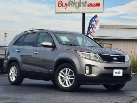 2015 Kia Sorento for sale at BuyRight Auto in Greensburg IN