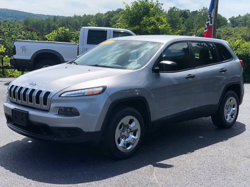 2014 Jeep Cherokee for sale at Pine Grove Auto Sales LLC in Russell PA