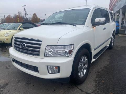 2007 Infiniti QX56 for sale at Salem Motorsports in Salem OR