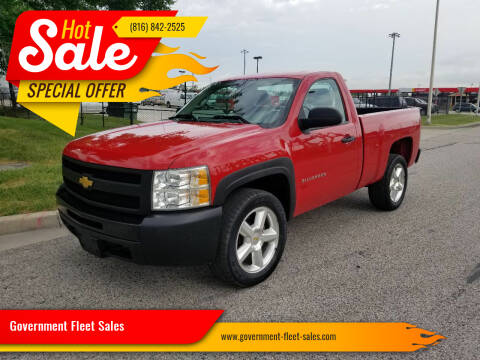 2012 Chevrolet Silverado 1500 for sale at Government Fleet Sales in Kansas City MO