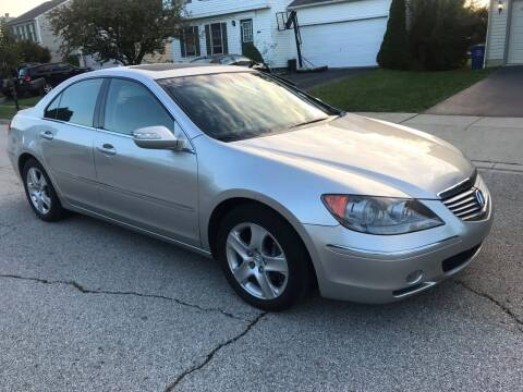 2005 Acura RL for sale at Via Roma Auto Sales in Columbus OH