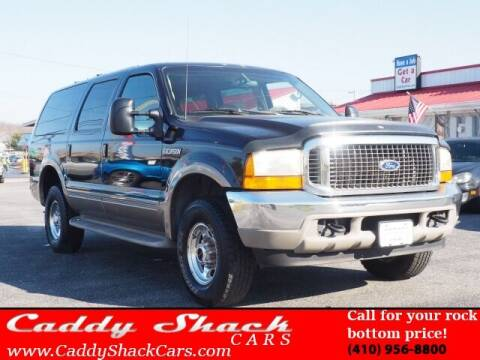 2000 Ford Excursion for sale at CADDY SHACK CARS in Edgewater MD