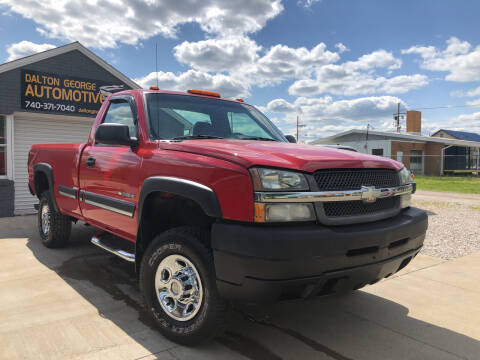 2004 Chevrolet Silverado 2500HD for sale at Dalton George Automotive in Marietta OH