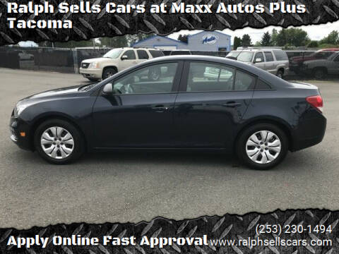 2016 Chevrolet Cruze Limited for sale at Ralph Sells Cars at Maxx Autos Plus Tacoma in Tacoma WA