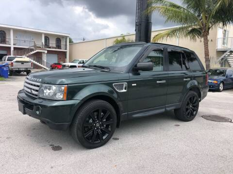 2009 Land Rover Range Rover Sport for sale at Florida Cool Cars in Fort Lauderdale FL
