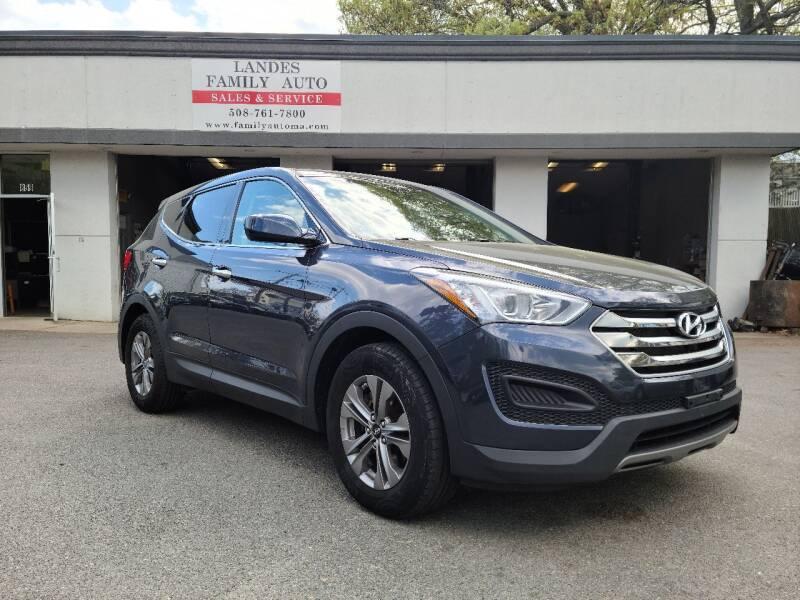 2015 Hyundai Santa Fe Sport for sale at Landes Family Auto Sales in Attleboro MA