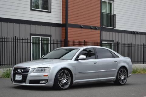 2008 Audi A8 L for sale at Skyline Motors Auto Sales in Tacoma WA
