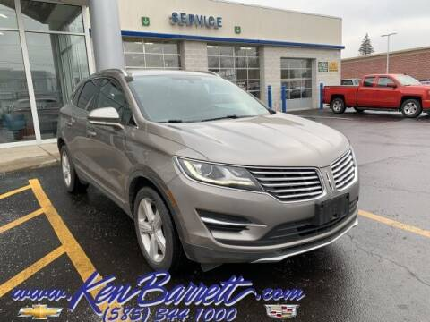 2016 Lincoln MKC for sale at KEN BARRETT CHEVROLET CADILLAC in Batavia NY