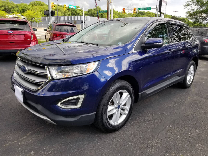 2016 Ford Edge for sale at Cedar Auto Group LLC in Akron OH