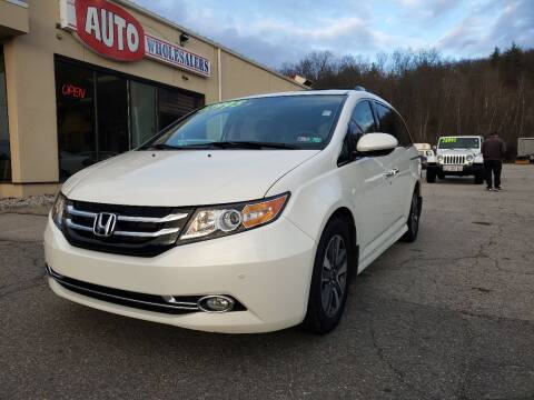 2015 Honda Odyssey for sale at Auto Wholesalers Of Hooksett in Hooksett NH