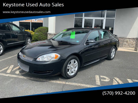 2012 Chevrolet Impala for sale at Keystone Used Auto Sales in Brodheadsville PA