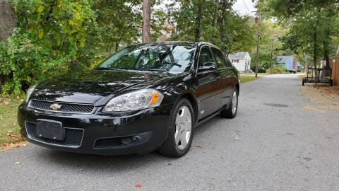 2006 Chevrolet Impala for sale at Billycars in Wilmington MA