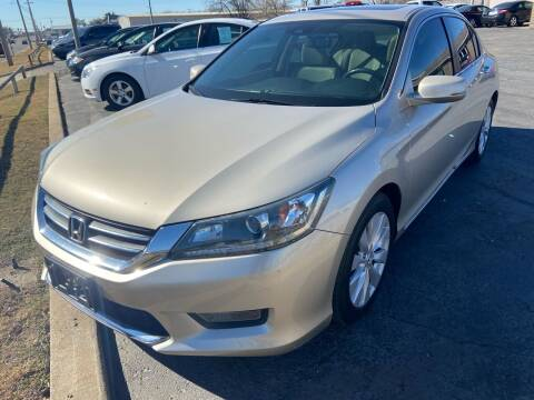 2014 Honda Accord for sale at Kasterke Auto Mart Inc in Shawnee OK
