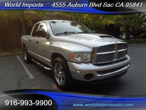 2005 Dodge Ram Pickup 1500 for sale at World Imports in Sacramento CA