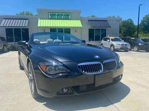 2005 BMW 6 Series for sale at Cross Motor Group in Rock Hill SC