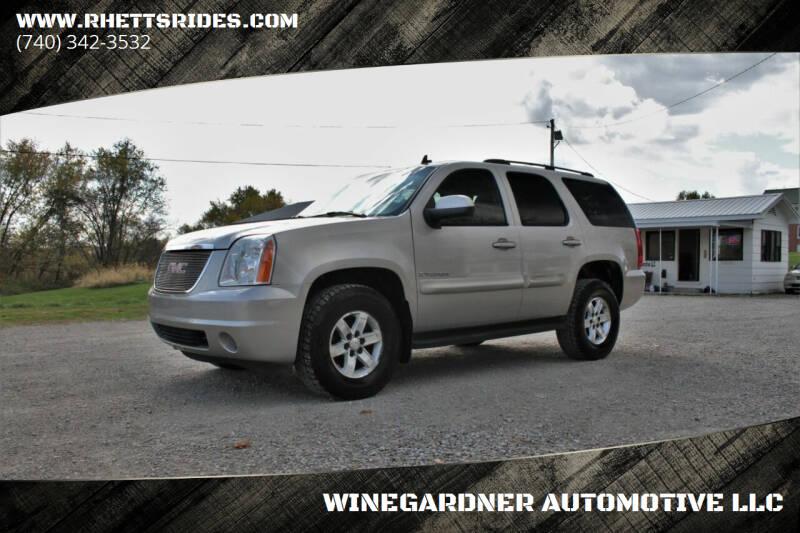 2007 GMC Yukon for sale at WINEGARDNER AUTOMOTIVE LLC in New Lexington OH