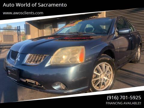 2004 Mitsubishi Galant for sale at Auto World of Sacramento Stockton Blvd in Sacramento CA
