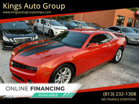 2013 Chevrolet Camaro for sale at Kings Auto Group in Tampa FL