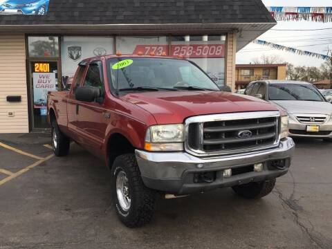 2003 Ford F-250 Super Duty for sale at EL SOL AUTO MART in Franklin Park IL