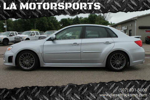 2012 Subaru Impreza for sale at LA MOTORSPORTS in Windom MN