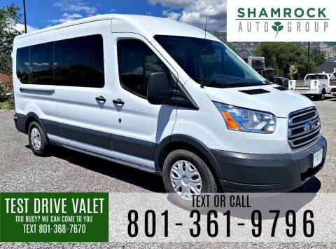 2017 Ford Transit Passenger for sale at Shamrock Group LLC #1 in Pleasant Grove UT