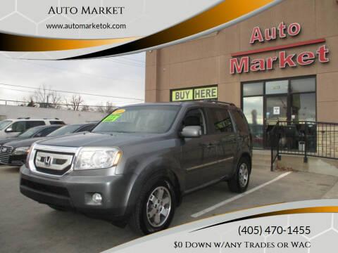 2010 Honda Pilot for sale at Auto Market in Oklahoma City OK