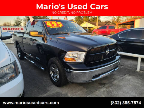 2012 RAM Ram Pickup 1500 for sale at Mario's Used Cars - South Houston Location in South Houston TX