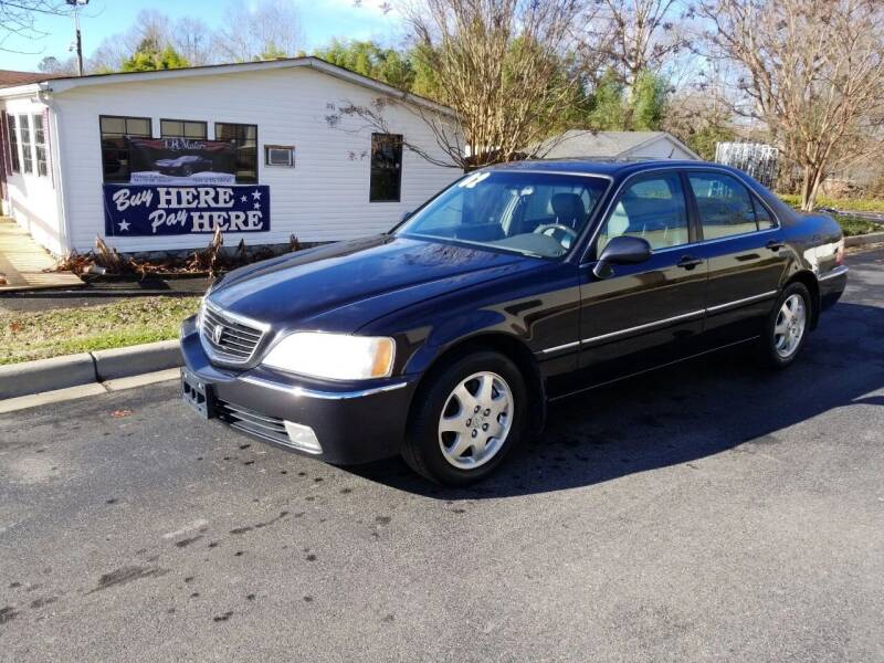 2002 Acura RL for sale at TR MOTORS in Gastonia NC