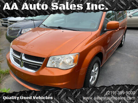 2011 Dodge Grand Caravan for sale at AA Auto Sales Inc. in Gary IN